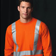reflective safety t-shirts